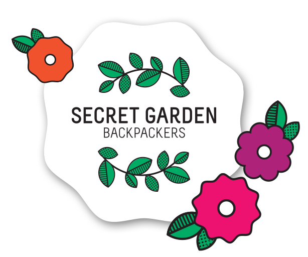 Secret Garden Backpackers Logo